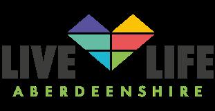 Live, Life Aberdeenshire logo