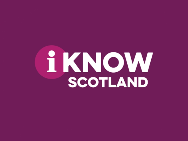 I Know Scotland logo