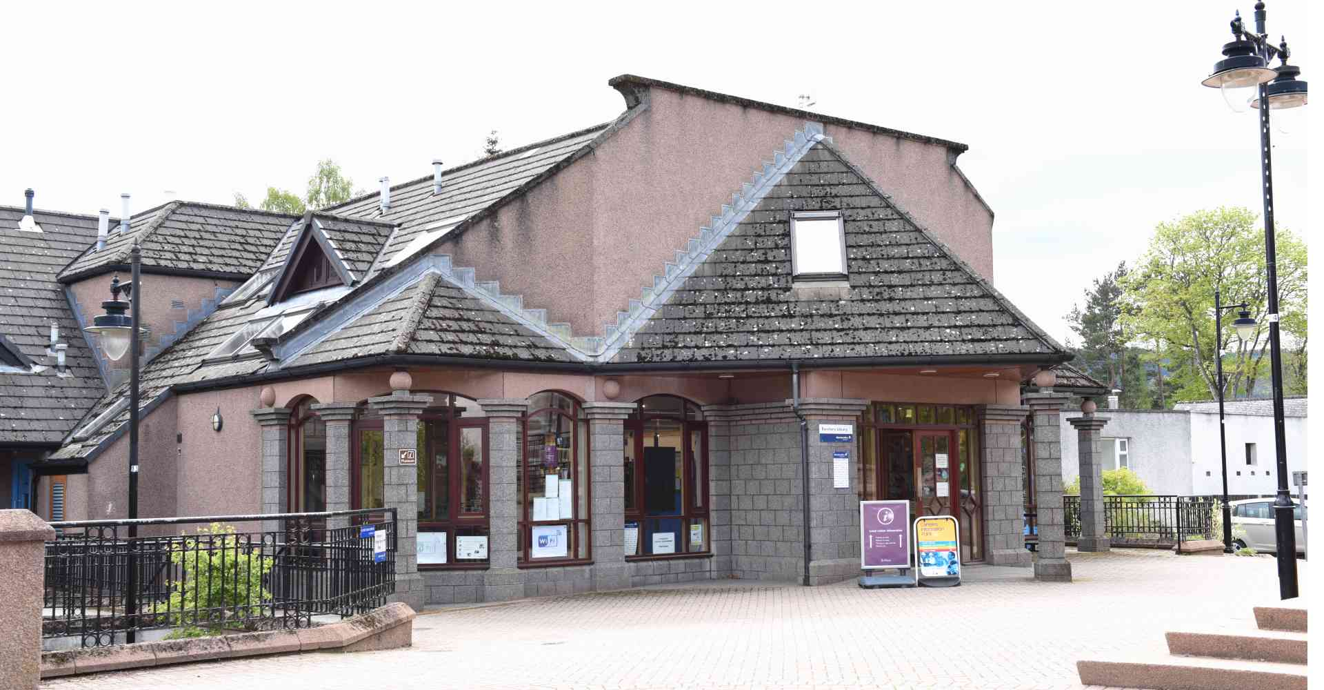 Banchory Library is Moving