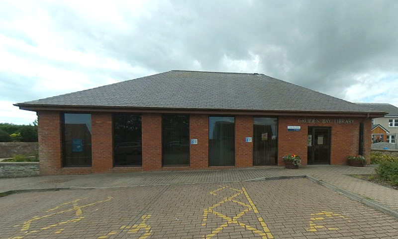 Cruden Bay Library exterior