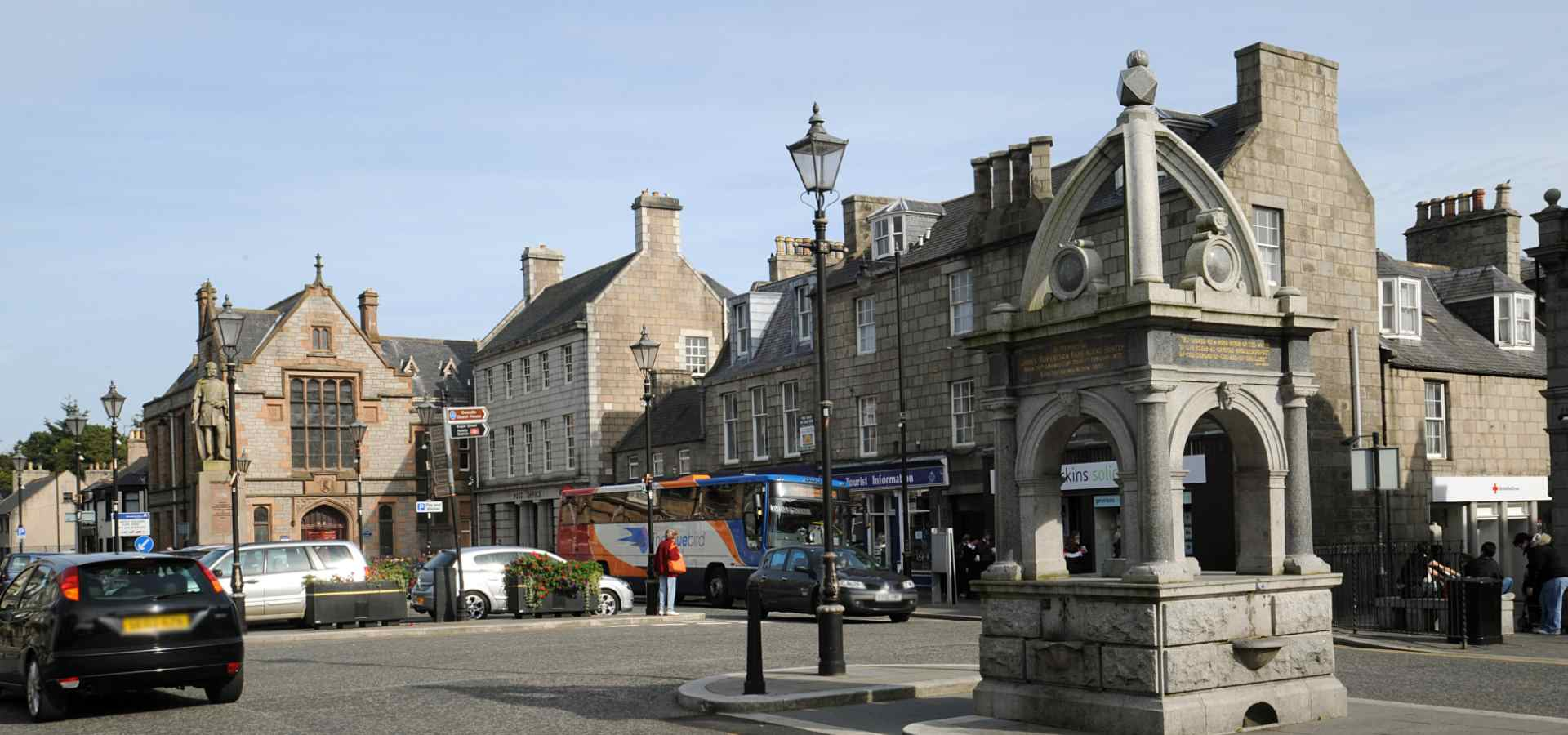 Huntly Town Centre