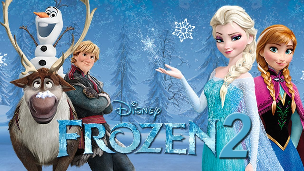Characters from the film Frozen 2