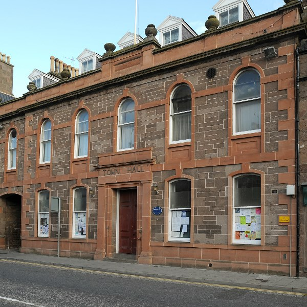Outside image of Stonehaven Town Hall