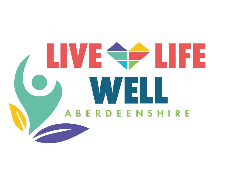 Live Life Well logo